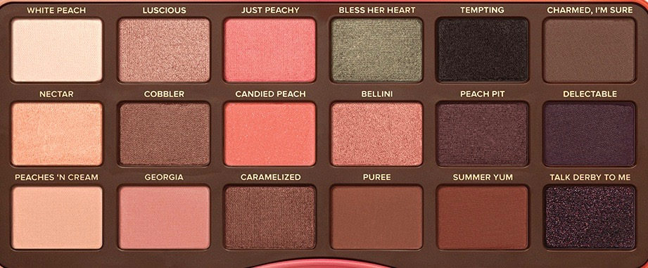 Too Faced Sweet Peach Eyeshadow Palette Review Swatches Focus