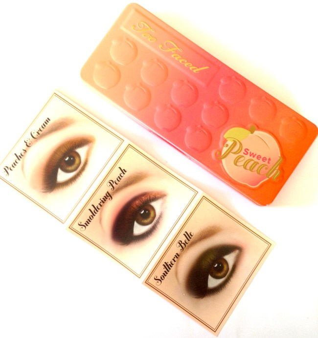 Too Faced Sweet Peach Eyeshadow Palette Review Swatches Style Makeup