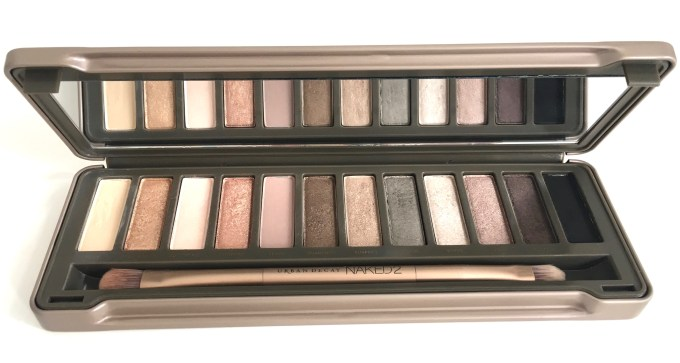 Urban Decay Naked 2 Eyeshadow Palette Review Swatches Near