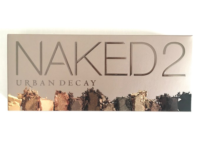 Urban Decay Naked 2 Eyeshadow Palette Review Swatches Box Front