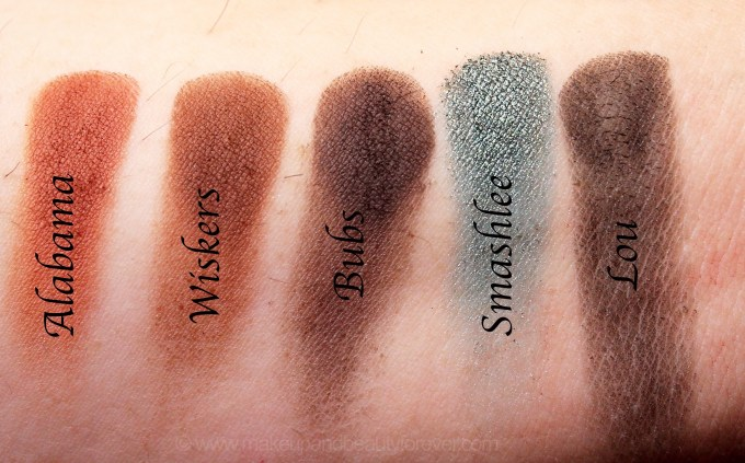 Violet Voss x Laura Lee Eye Shadow Palette Review Swatches Alabama Wiskers Bubs Smashlee Lou