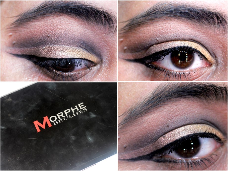 Morphe 35W 35 Color Warm Palette Review Swatches MBF Eye Makeup Look