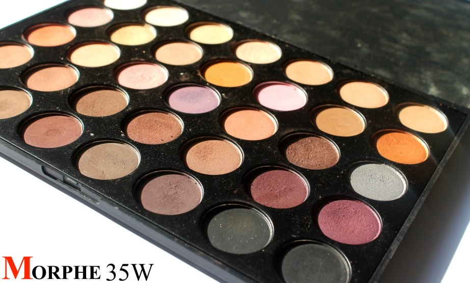 Morphe 35W 35 Color Warm Palette Review Swatches