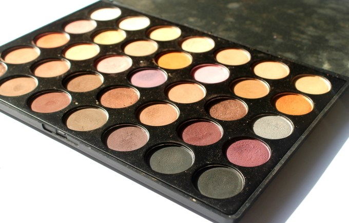Morphe 35W 35 Color Warm Palette Review Swatches MBF