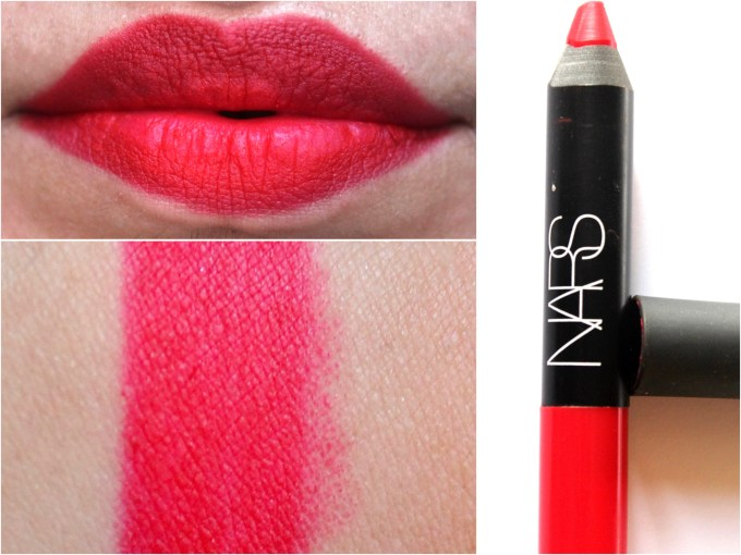 NARS Dragon Girl Velvet Matte Lip Pencil Review Swatches MBF