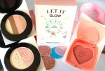 Too Faced Let It Glow Highlight and Blush Kit Review, Swatches