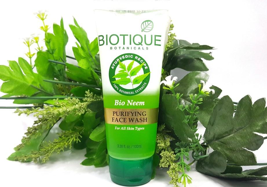 Biotique Bio Neem Purifying Face Wash Review