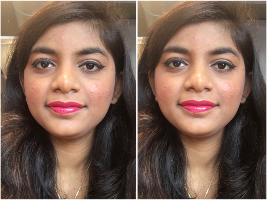 Colorbar 3D Matte Lipstick Cocktail Collection Cosmopolitan Review, Swatches MBF Makeup Look 3