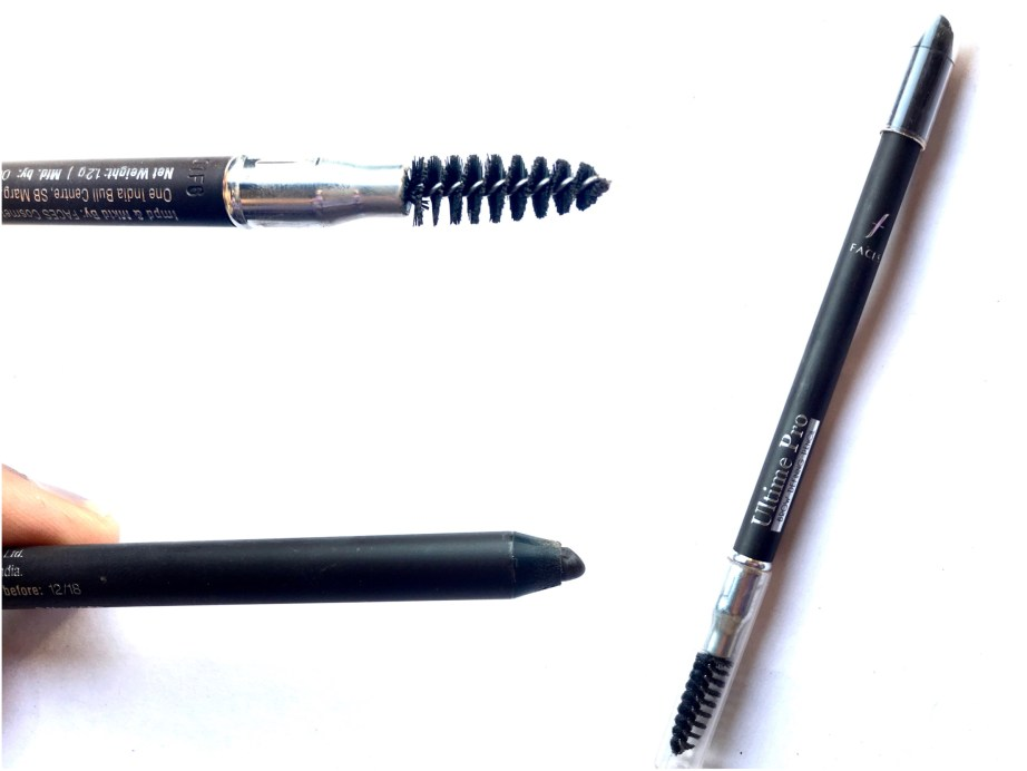Faces Ultime Pro Brow Defining Eyebrow Pencil Review Swatches