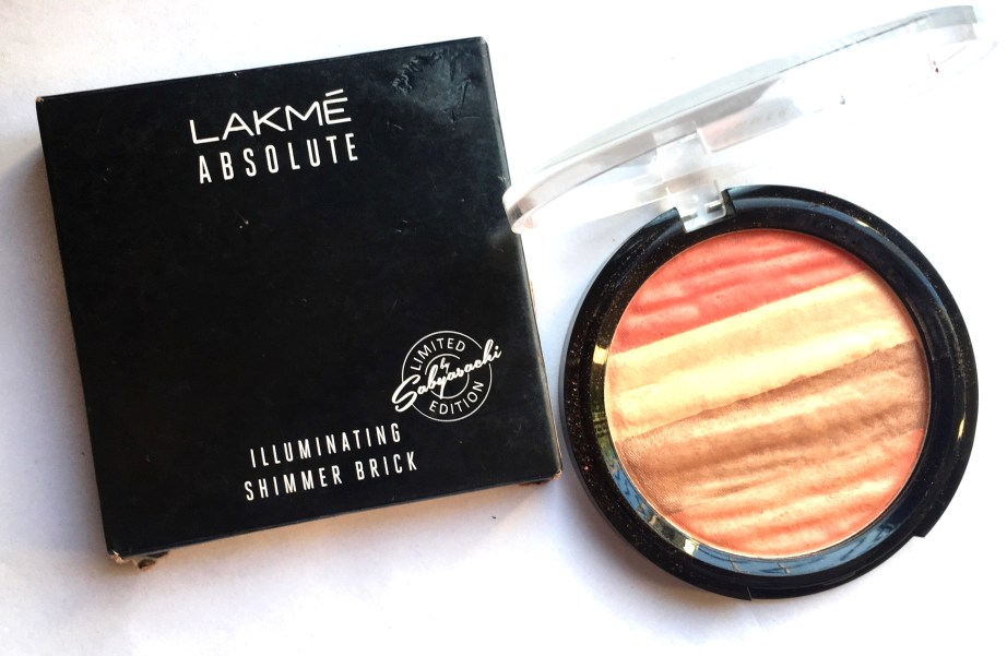 Lakme Absolute Illuminating Blush Shimmer Brick Coral Review Swatches MBF