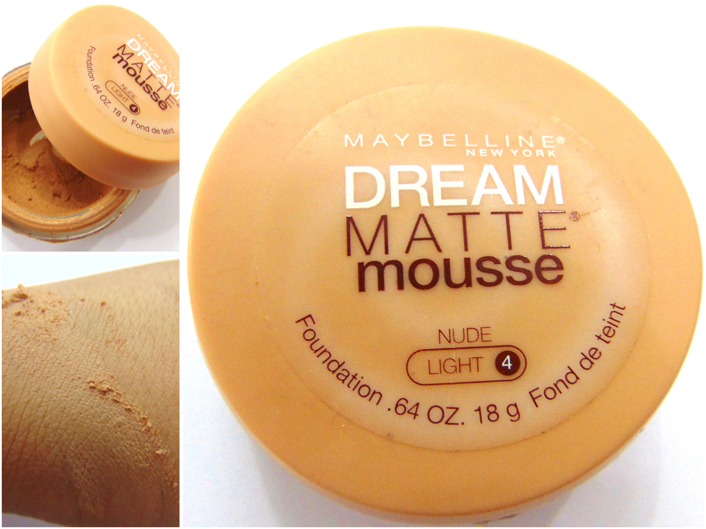 Maybelline Dream Matte Mousse Foundation Review Swatches