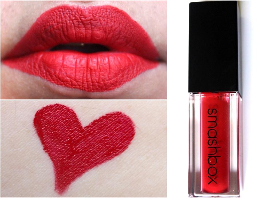 Smashbox Always On Matte Liquid Lipstick Bawse Review Swatches