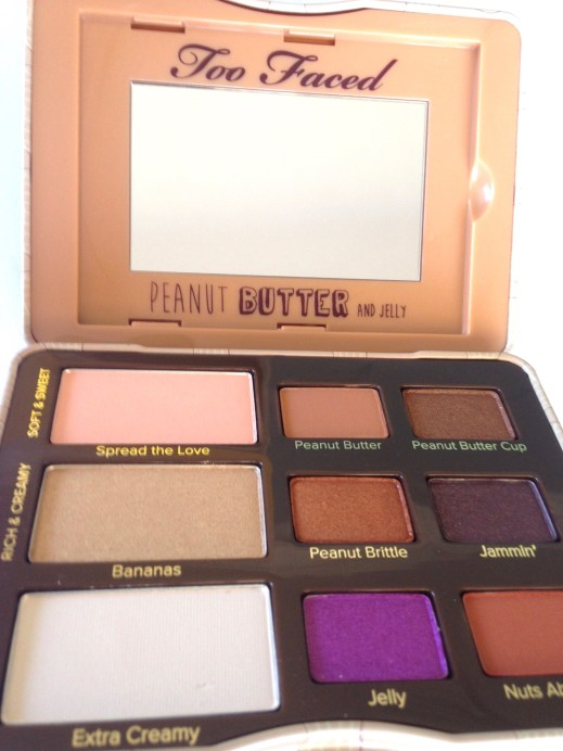 Too Faced Peanut Butter & Jelly Eyeshadow Palette Review Swatches Focus