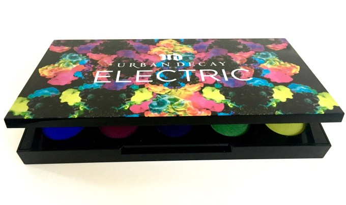 Urban Decay Electric Pressed Pigment Eyeshadow Palette Review Swatches MBF 1