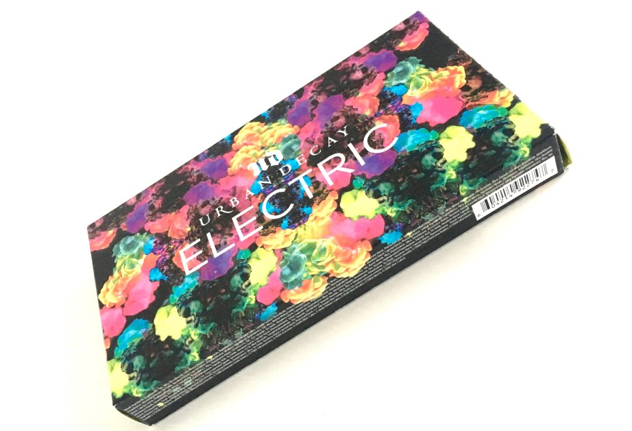 Urban Decay Electric Pressed Pigment Eyeshadow Palette Cover