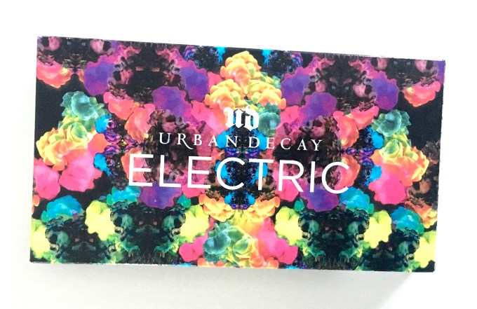 Urban Decay Electric Pressed Pigment Eyeshadow Palette front cover