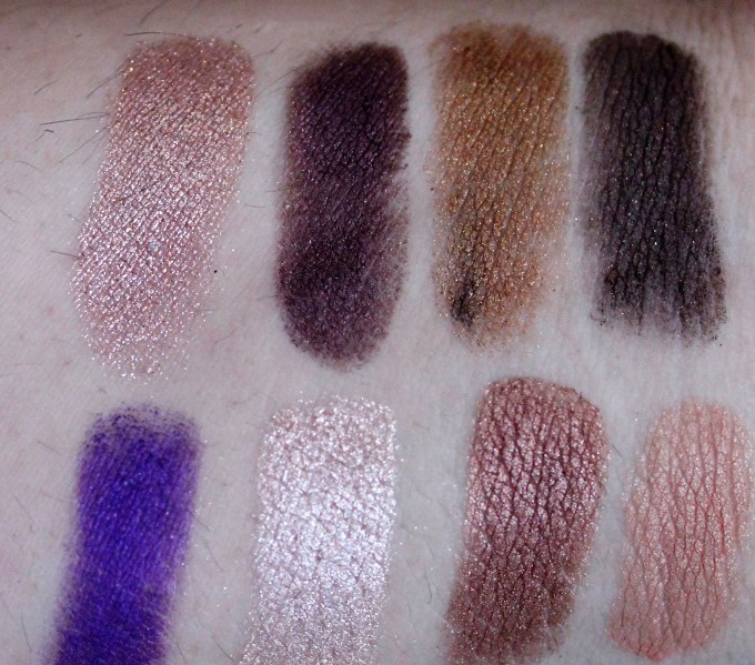 Anastasia Beverly Hills Self Made EyeShadow Palette Review, Swatches Left 1