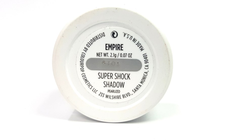 ColourPop Empire Super Shock Eye Shadow Review, Swatches MBF Blog