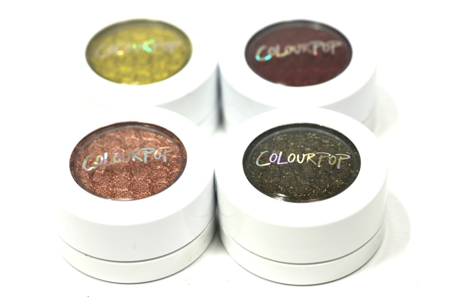 ColourPop KathleenLights Where The Night Is Super Shock Shadow Set Review, Swatches 4