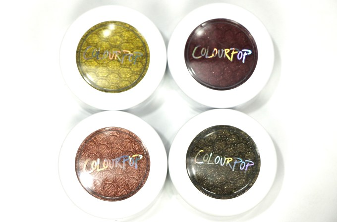 ColourPop KathleenLights Where The Night Is Super Shock Shadow Set Review, Swatches MBF Blog