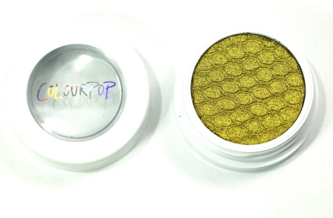 ColourPop Telepathy Super Shock Eye Shadow Review, Swatches 3