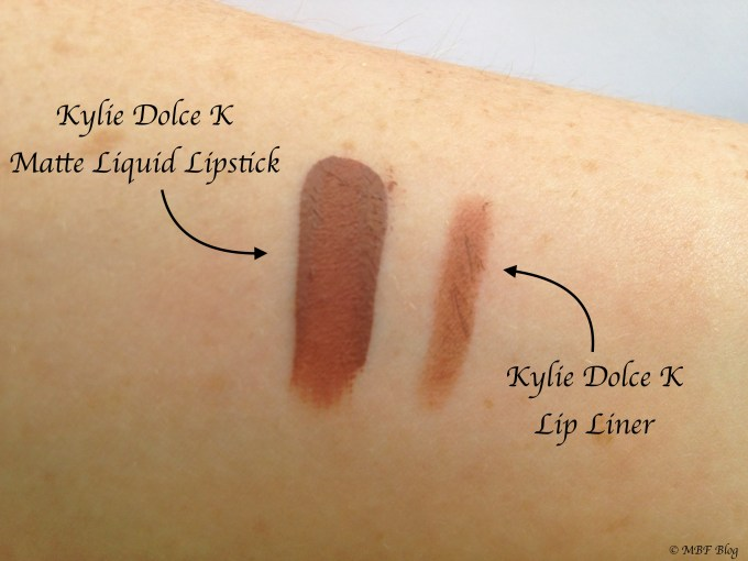 Kylie Dolce K Matte Lip Kit Review, Swatches Skin