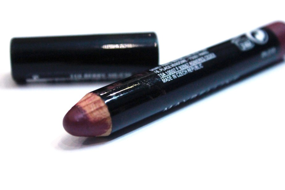 Maybelline Color Drama Intense Velvet Lip Pencil Berry Much Review, Swatches 8