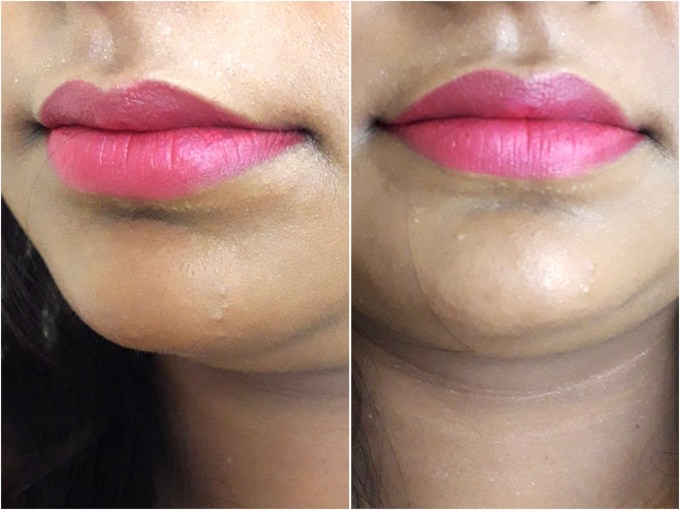 Maybelline Creamy Matte Lipstick Mesmerizing Magenta Review, Swatches on Lips