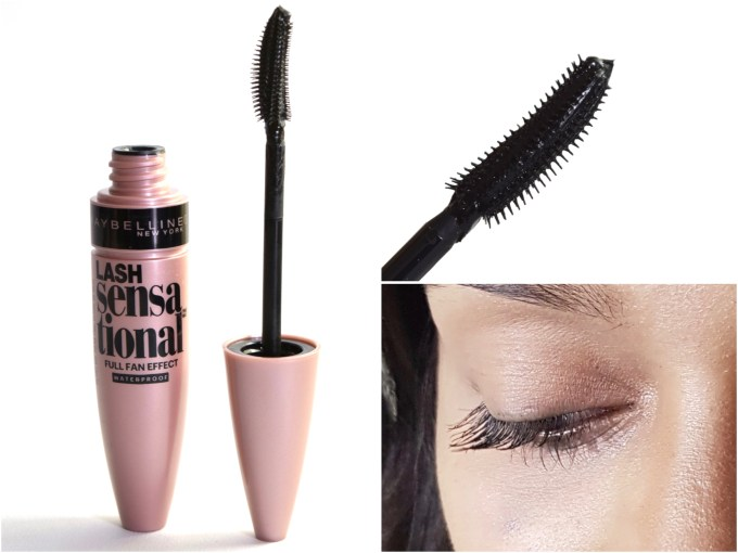 Maybelline Lash Sensational Mascara Review, Swatches