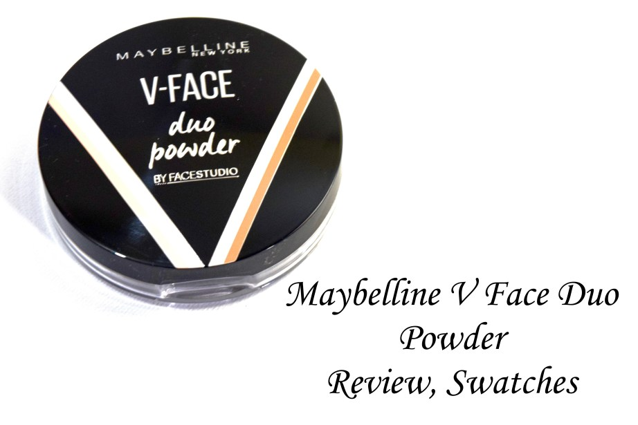 Maybelline V Face Duo Powder Review, Swatches 2