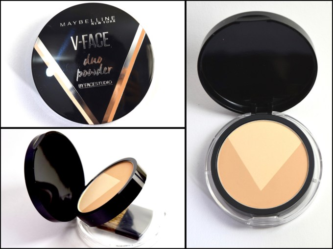 Maybelline V Face Duo Powder Review, Swatches MBF