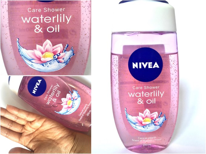 Nivea Waterlily & Oil Shower Gel Review MBF
