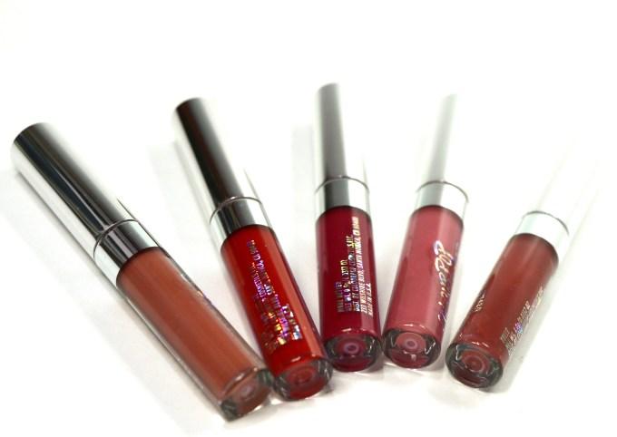 ColourPop Foxy Ultra Matte Lipstick Kit Review, Swatches 2