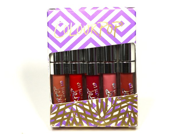 ColourPop Foxy Ultra Matte Mini Lip Kit Review, Swatches MBF