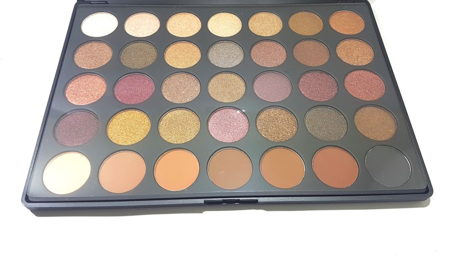 Morphe 35F Fall Into Frost Palette Review, Swatches HD