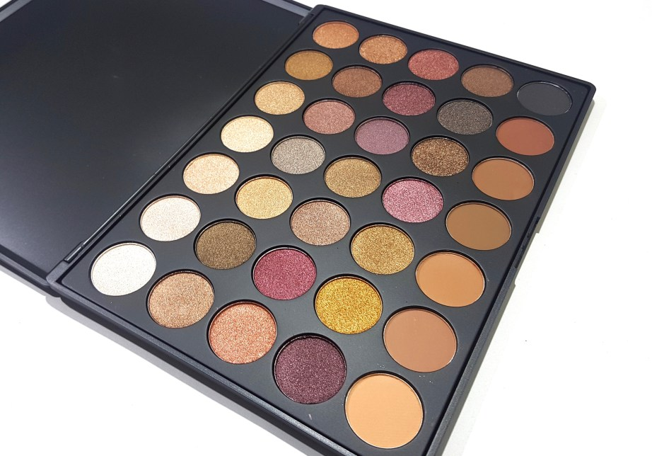 Morphe 35F Fall Into Frost Palette Review, Swatches