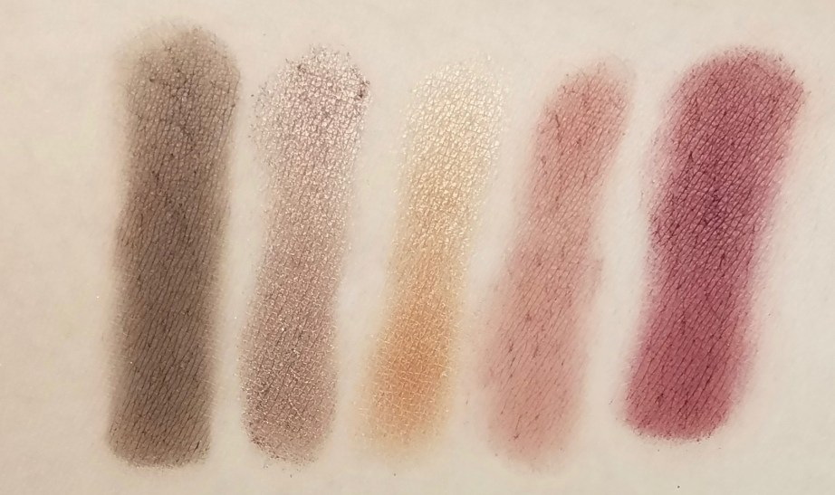Morphe Kathleen Lights Eyeshadow Palette Review, Swatches row 2