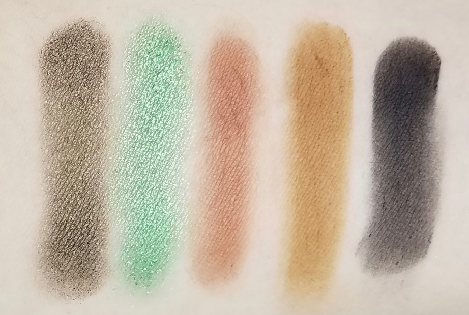 Morphe Kathleen Lights Eyeshadow Palette Review, Swatches row 3