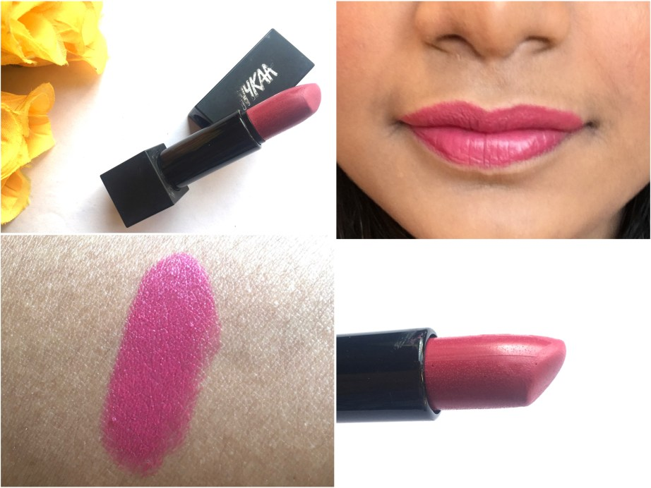 Nykaa So Matte Lipstick Devious Pink 03 M Review, Swatches On Lips