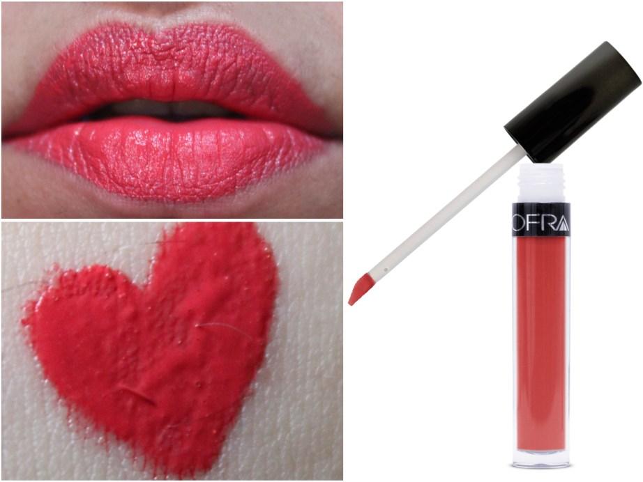 OFRA Long Lasting Liquid Lipstick Paris Rendezvous Review, Swatches