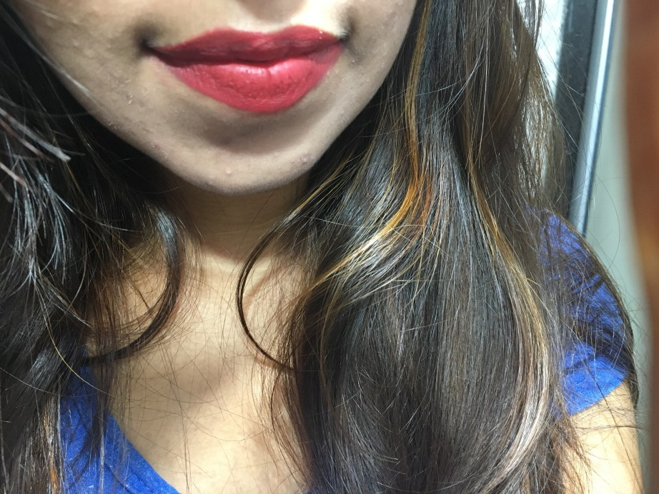 Sugar Smudge Me Not Liquid Lipstick Rust Lust 05 Review, Swatches On Lips Focus