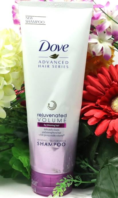 Dove Rejuvenated Volume Shampoo Review Front