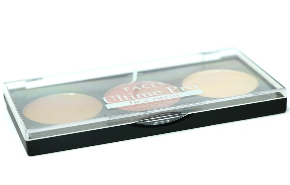FACES Ultime Pro Face Palette Fresh Review, Swatches click lock
