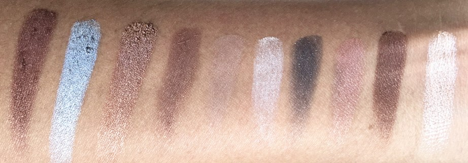 Faces Ultime Pro Eyeshadow Palette Nude Review, Swatches MBF