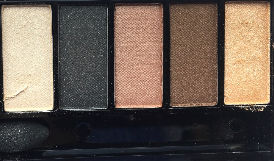 Faces Ultime Pro Eyeshadow Palette Nude Review, Swatches Right Half