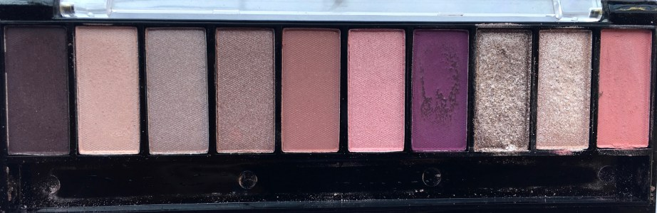 Faces Ultime Pro Eyeshadow Palette Rose Review, Swatches MBF Focus