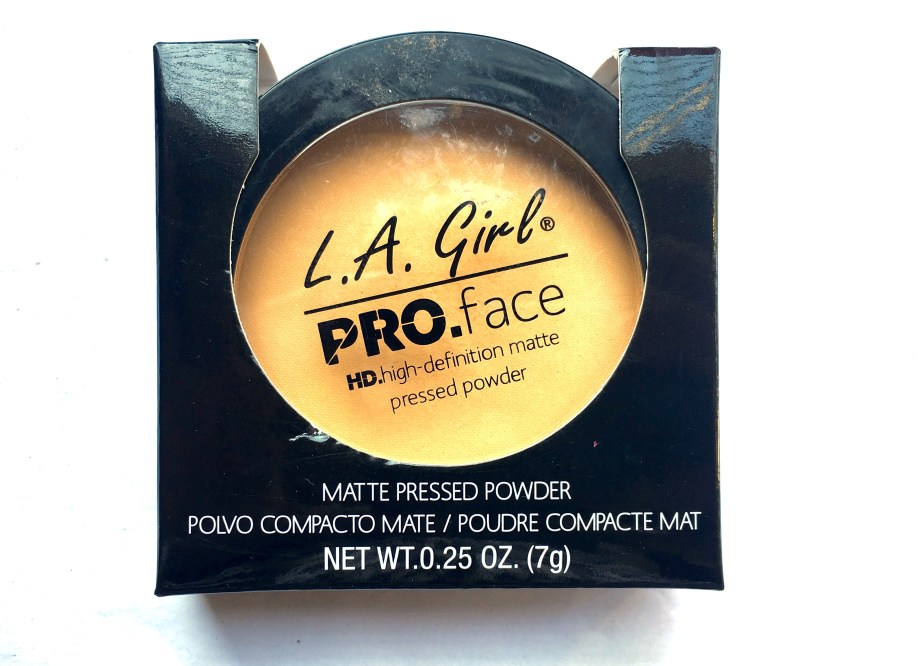 L.A. Girl Pro Face HD Matte Pressed Powder Review, Swatches MBF Blog