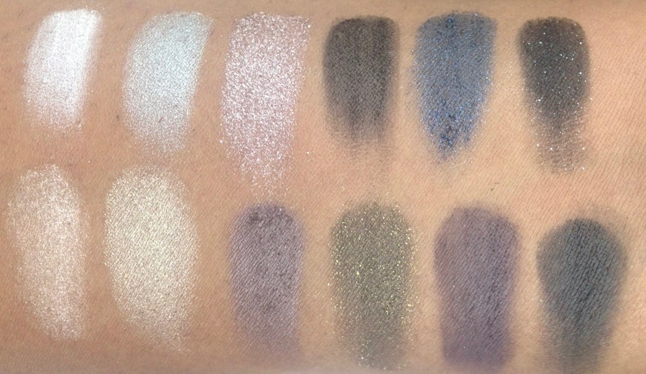 Maybelline The Rock Nudes Eye Shadow Palette Review, Swatches 1