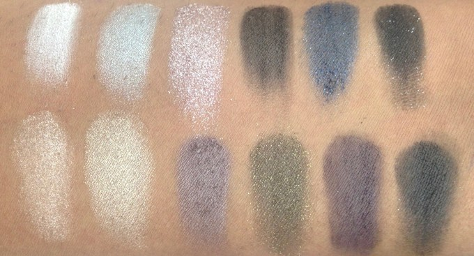 Maybelline The Rock Nudes Eye Shadow Palette Review, Swatches 3