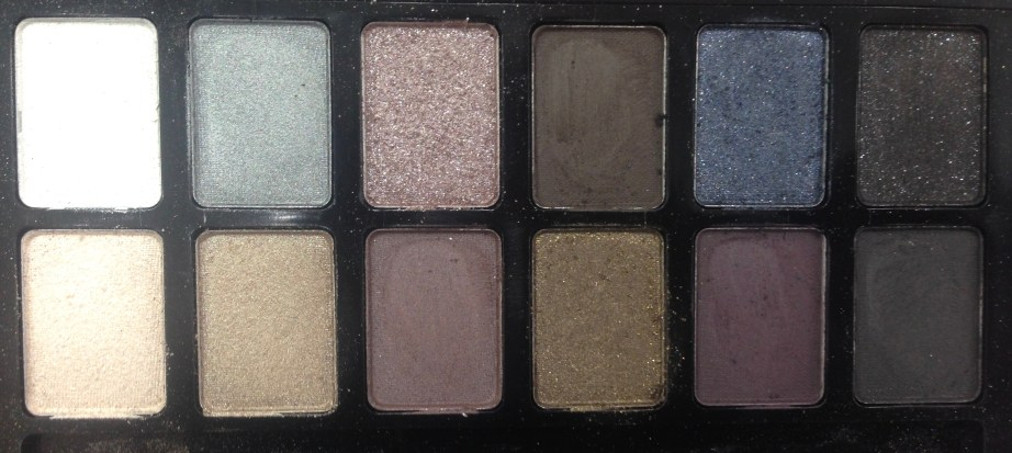 Maybelline The Rock Nudes Eye Shadow Palette Review, Swatches Closeup